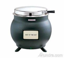 Server 84300 Black 11 Qt Soup Kettle Cooker Warmer