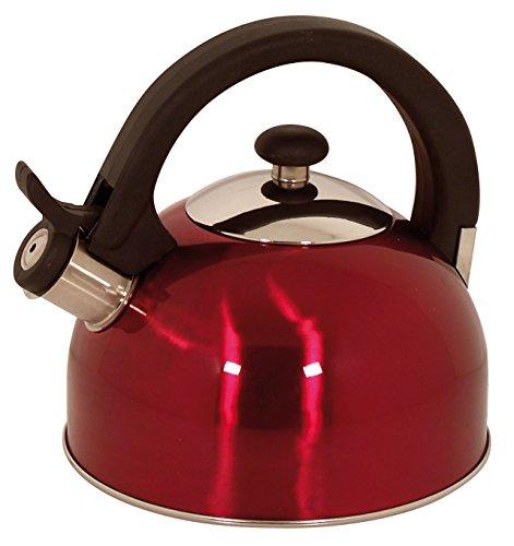 Magefesa 21-Quart Sabal Stainless Steel Tea Kettle Red