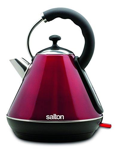 Salton JK1570 Cordless Electric Kettle 18 L Metallic Red