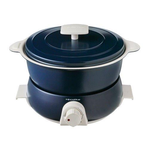 Recolte Pot Duo fête Electric pot Multi Cooker Navy
