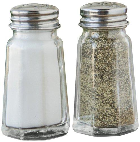 Fox Run Salt And Pepper Shaker Set, Glass