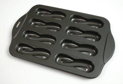 Norpro 3986 Nonstick 8-Cavity Swirl Donut/Cake Pan
