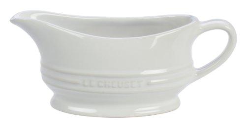 Le Creuset Stoneware 12-Ounce Gravy Boat White