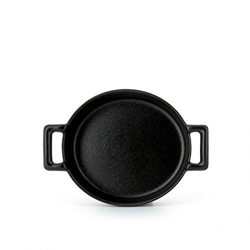 Revol Belle Cuisine Black Creme Brulee Dish 644662