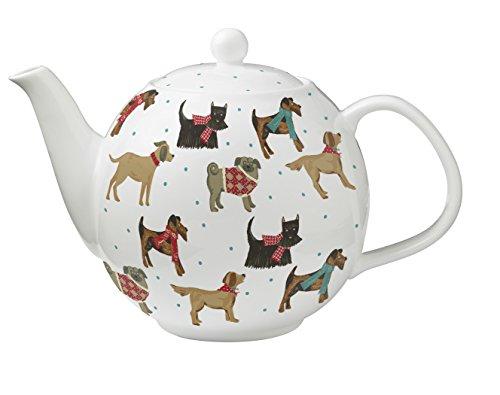 Ulster Weavers 6-Cup Hound Dog Bone China Teapot