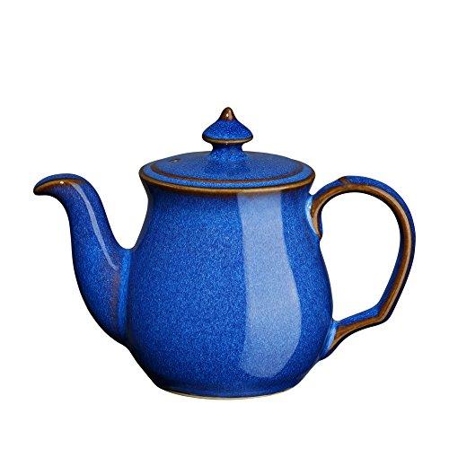Denby Imperial Blue Teapot Salt Shaker Royal Blue