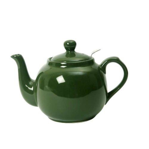 Farmhouse Filter Teapot - Green 6 Cup