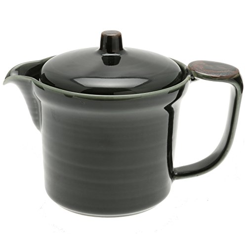 Jpanese Olive Green Teapot 115-273