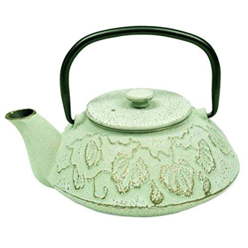 Tetsubin light green teapots Japanese 045 liter