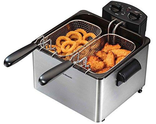 Hamilton Beach 35034 Professional-style Deep Fryer, Silver