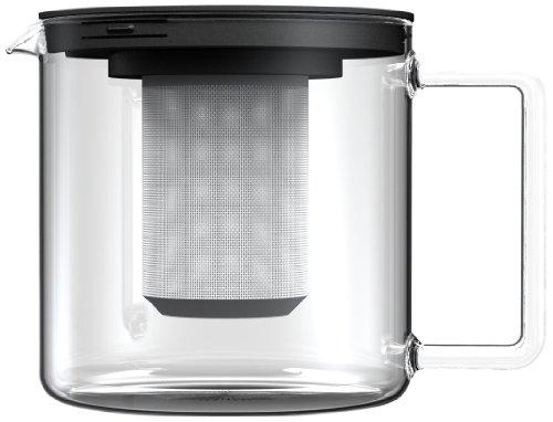 Simax Glassware 3260MET 55-Cup Teapot with Metal Tea Strainer