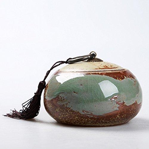 Chinese ceramic tea caddy tins tea caddie tea set tea jar tea storage container Multi colored porcelain