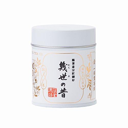 Kazuyasu-do tea store tea Ikuyo old 40g cans