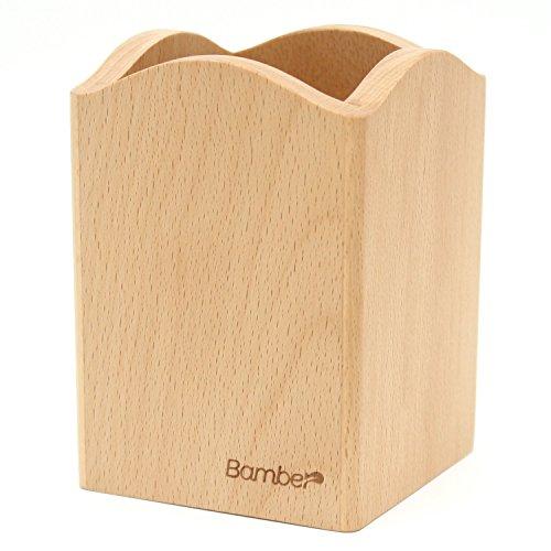 Bamber Kithcen Utensil Holder, Utensil Storage Caddy Crock, Eco-friendly, Pencil Holders, Versatile Holders -