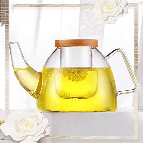 Carl Artbay High Temperature Resistance ZS Creative Elephant Glass Set Filter Teapot Large Heat Resistant Teapot Kettle 710ml