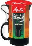 Melitta 64010 Ready Set Joe Single Cup Coffee Brewer - Quantity 8