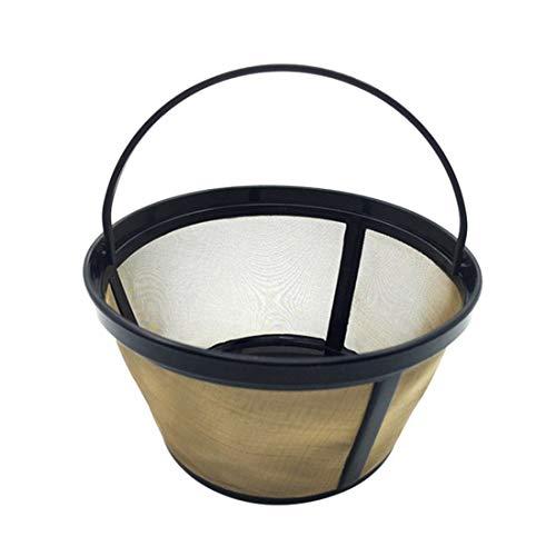Coffee Filters 1 Coffee Maker Filter Basket Reusable Bar Coffee Filter Eco Friendly Enerhu fits Hamilton Beach Coffee Makers Bonavita 1901TS and Bonavita 1901PW