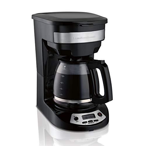 Hamilton Beach 46299 Programmable Coffee Maker Black Renewed