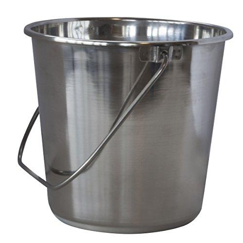 Amerihome X-Large Stainless Steel Bucket