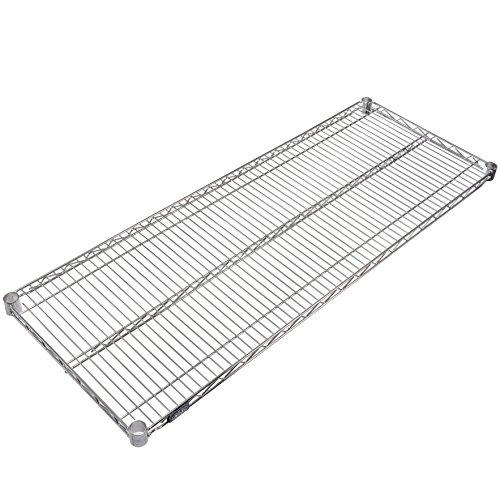 Nexel Wire Shelf Stainless Steel 24W x 72L