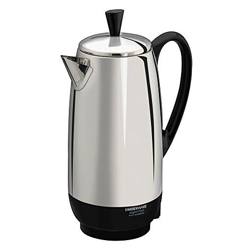 Farberware Fcp412 12-cup Percolator, Stainless Steel