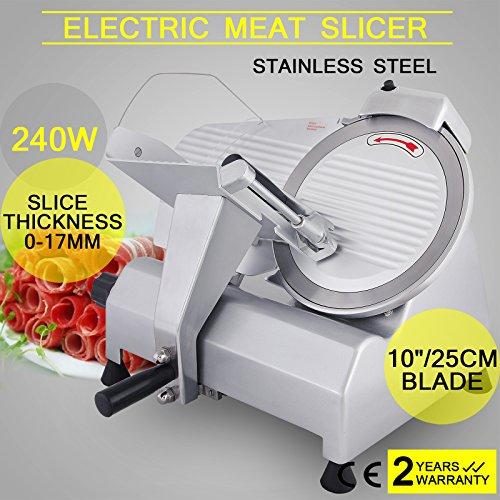 Orangea Meat Slicer Electric Slicer 10 Inch Veggies Cutter For Massive Beef Vegetable Fruit Slicing Restaurants