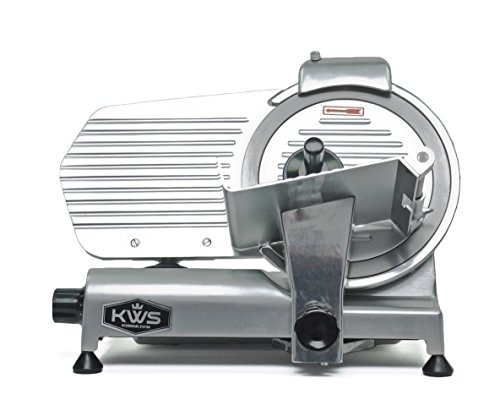 "Kws High Quality Commercial 320w Electric Meat Slicer 10"" Frozen Meat Deli Slicer Coffee Shop/restaurant And Home"