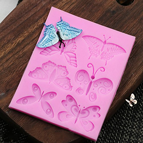 Butterfly Chocolate Candy Silicone Cake Mould for Cake Decoration