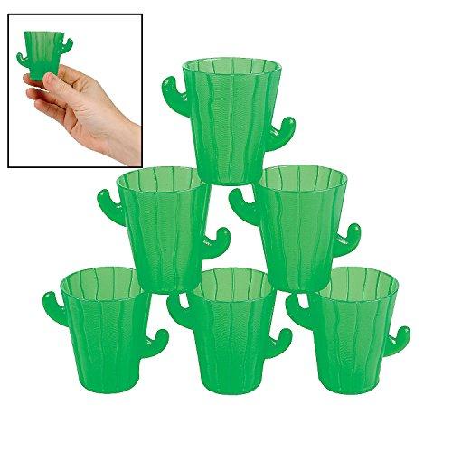 Cactus Shot Glasses - Cinco de Mayo Party Tableware