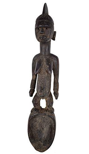 Mossi Biiga Carved Spoon Burkina Faso African Art