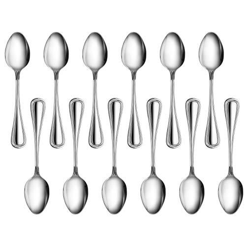New Star 58123 Slimline Stainless Steel Dinner Spoon 725-Inch Set of 12