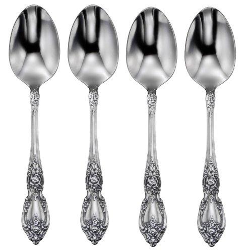 Oneida Wordsworth Everyday Flatware Dinner Spoons Set of 4
