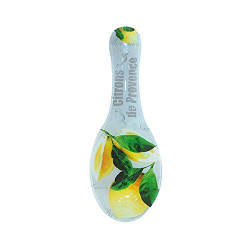 Citron de Provence Lemons Glass Ceramic Spoon Rest