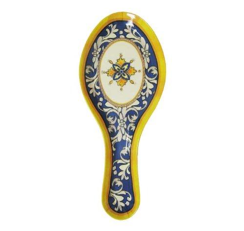Le Cadeaux Malaga Blue Melamine Spoon Rest