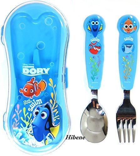 Disney Pixar Finding Dory Kids Spoon Fork Case Set