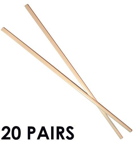 Melamine Chopsticks 20 Pairs White Ivory