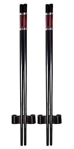 Amazing Grace Luxury Designer Chopsticks Gift Set Top Design Series S-2 Tibetan Red