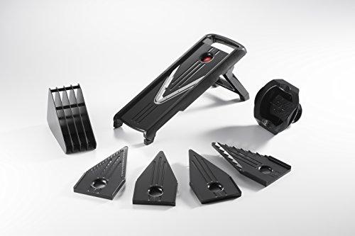 Adjustable Mandoline Vegetable Slicer - Sturdy Design - Julienne Blade - Added Protection - Professional Quality