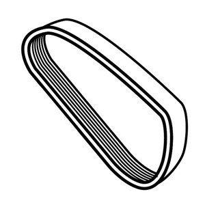 Ribbed Belt For Berkel Slicer - Berkel Part 829-00066