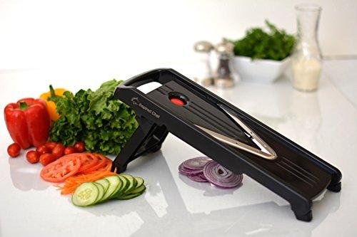 Professional Mandoline Slicer - 8 Piece Set With Lifetime Warranty - Premium Vegetable Slicer - Food Slicer