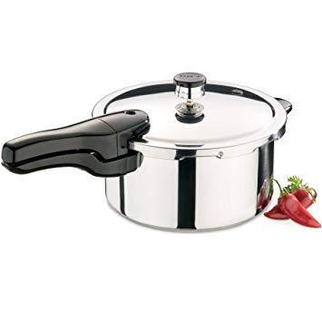 Presto 4-Quart Stainless Steel Pressure Cooker 01341 1