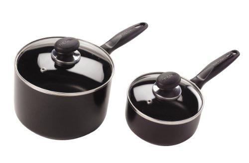 Pedrini 5040308 2-piece Non-stick Saucepans Set, 1-quart And 3-quart