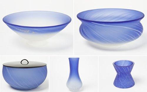 Yamashita Tomio work Matcha tool set of 5  cold cup - Jianshui  ladle stand - water finger - Futa'u yamaset