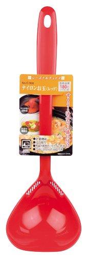 Parukinzoku Seasonal Choice nylon ladle Red C-956