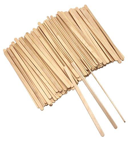 Disposable Birch Wood Coffee Stir Sticks Wooden Stirrers Drink Stirrer55 Inch 500 Pcs