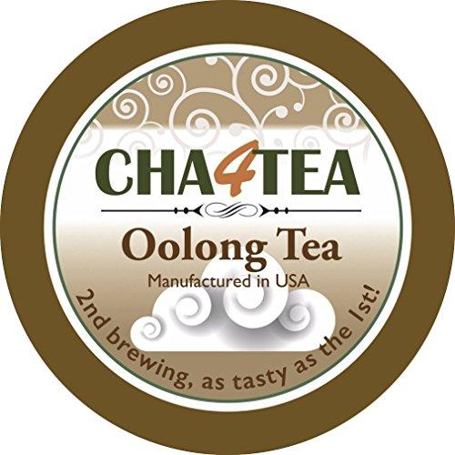 Cha4TEA Oolong Tea K Cups for Keurig K-Cup 18-Count