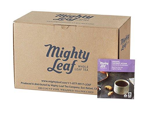 Mighty Leaf Tea Organic Coconut Assam Tea 100ct Bulk Tea Pouches