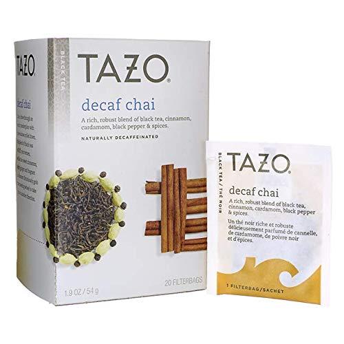 Tazo Decaf Chai Black Tea Filterbags 20 count