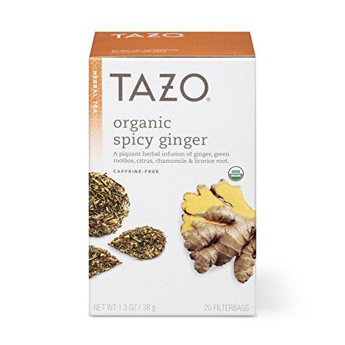 Tazo Herbal Tea Spicy Ginger 20 Bags