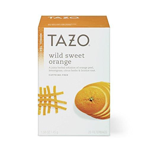 Tazo Herbal Tea Wild Sweet Orange